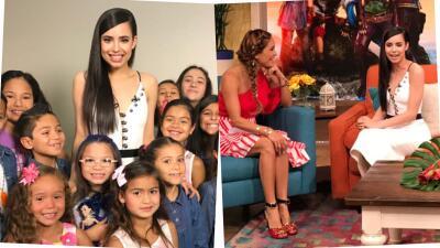 Despertamos con la estrella de Disney Channel, Sofia Carson