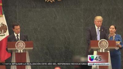 El mal sabor que dejó el encuentro entre Trump y Peña Nieto