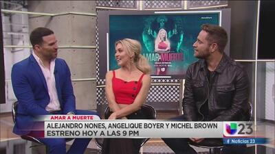 Estreno Mundial de 'Amar a Muerte' esta noche por Univision