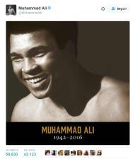 El mundo del deporte lamenta la muerte de Muhammad Ali