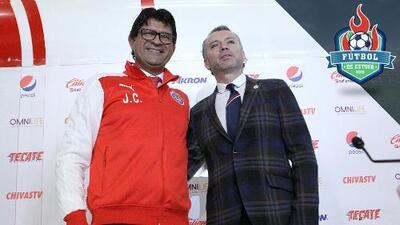 José Saturnino Cardozo es el nuevo técnico de las Chivas