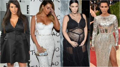 Por qué es un alivio que Kim Kardashian revele que el cuerpo que le vimos tras sus embarazos no era del todo real