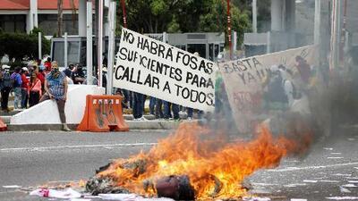 Fuerte tensión por elecciones en México
