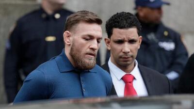 Fijan fianza de McGregor en 50 mil dólares; podrá salir de los Estados Unidos