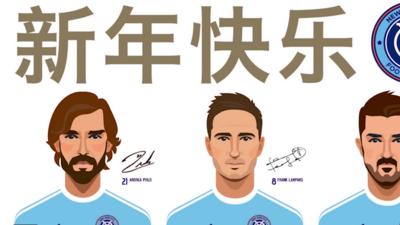 New York City FC celebra el Año Nuevo chino con página de Internet y cuenta en Weibo