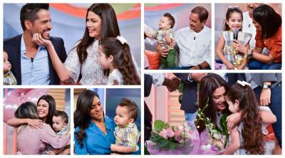 Las fotos de Ana Patricia con su familia durante su despedida de Despierta América