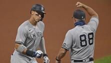 Yankees derrota a Indians en inicio de MLB Playoffs