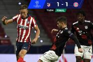 Atleti empata con Bayern Múnich y pone en suspenso su destino