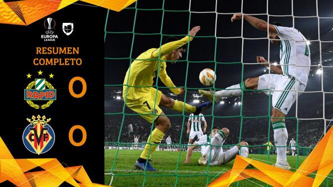 Rapid Wien 0-0 Villarreal - RESUMEN - Grupo G - UEFA Europa League