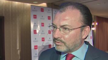 """""""Tenemos que estar preparado para todos los escenarios"""": Secretario de Relaciones Exteriores de México sobre futuro del TLC"""