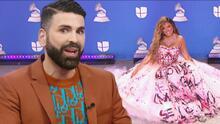 """Jomari Goyso habla del """"fuerte"""" mensaje que Karol G envió con su vestido en Latin GRAMMY 2020"""