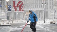 Filadelfia declara estado de emergencia en preparación para la tormenta invernal este jueves