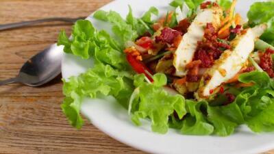 Ensalada de verano con pollo | Reto 28