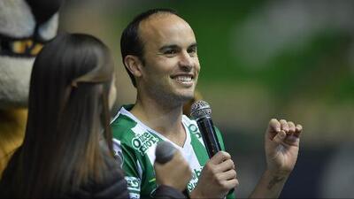 """Donovan y su mensaje a los hinchas de León: """"Vine a jugar al fútbol y a ser campeón con ustedes"""""""