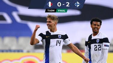 Finlandia frena a Francia en amistoso con par de golazos