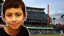 Max, el hijo de JLo, enciende juego de los Dodgers con baile