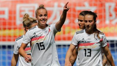 En fotos: con un golazo, Alemania le ganó a China en su debut en el Mundial Femenino