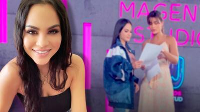 Natti Natasha y Clarissa Molina: el encuentro dominicano que ocurrió en Premios Juventud