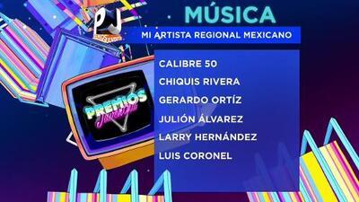 Nominados en la categoría Música