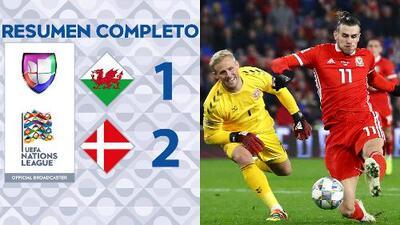 Gales 1-2 Dinamarca - UEFA Nations League – Grupo 4 - Resumen y Goles completo