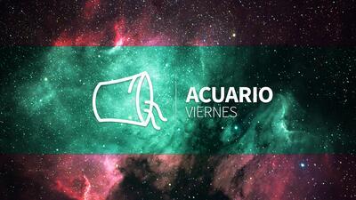 Acuario – Viernes 23 de febrero 2018: caminas con paso seguro en el camino del amor