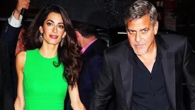 Ooops! ¿George Clooney se olvidó de su aniversario?