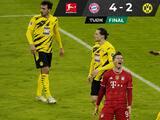 Bayern Múnich se recupera ante el Borussia Dortmund y después lo aplasta