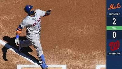 La era post Harper: Mets blanquean a los Nationals en Opening Day
