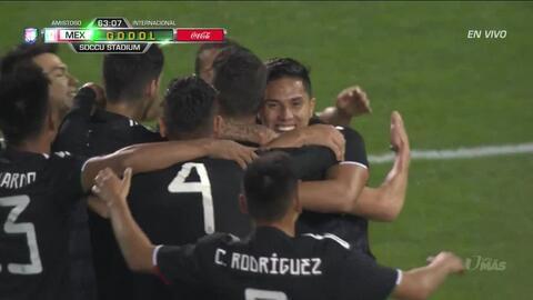 ¡GOOOL! Héctor Moreno anota para Mexico