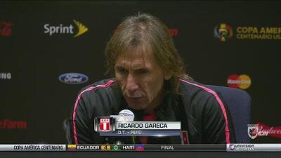 Ricardo Gareca: 'Pasamos por méritos propios'