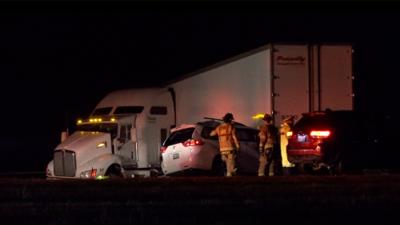 Una persona muere y siete resultan heridas en un aparatoso accidente en Willow Park