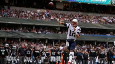 Patriots aplastó a Raiders en México con Tom Brady dando cátedra en el Azteca