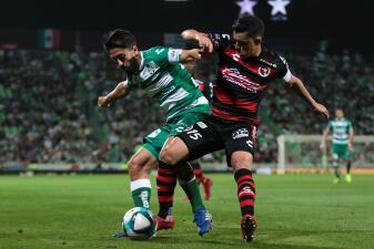 En fotos: Santos y Xolos igualaron 1-1 en el desenlace de la Jornada 6 del Clausura 2019
