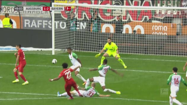 ¡Ya le dieron la vuelta! Tremendo zapatazo de Gnabry para el 2-1 del Bayern