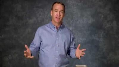 Intenta no reír: la 'irónica' felicitación de Peyton Manning a Drew Brees