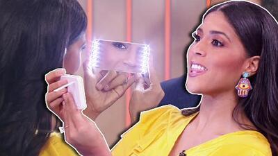 Francisca quedó encantada con un espejo iluminado y más productos de belleza en oferta solo en Gangas & Deals