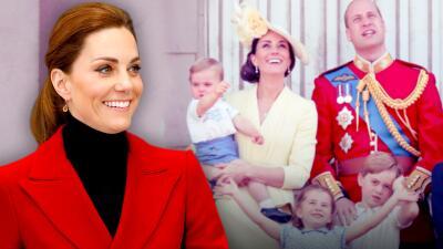 """Kate Middleton revela el método que utiliza para mejorar el bienestar mental de sus tres hijos (y es """"genial"""")"""