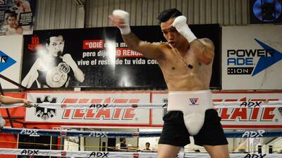 Hernán 'Tyson' Márquez listo para Juan Francisco 'Gallo' Estrada