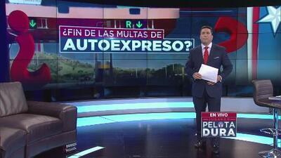 Anuncian el fin de las multas de autoexpreso