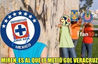 Memelogía: Cruz Azul ya no le gana ni al Veracruz y las burlas no se hicieron esperar
