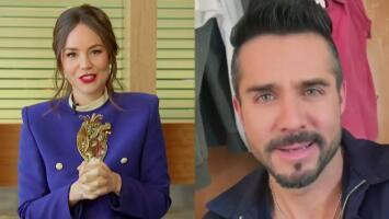 Camila Sodi y José Ron sorprendieron al elenco de Rubí con un mensaje y una petición muy especial