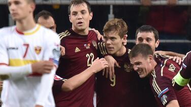 Rusia se clasifica para la Eurocopa 2016, Suecia jugará la repesca