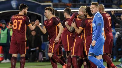 La Roma vence en Empoli y se pone a cinco puntos del liderato