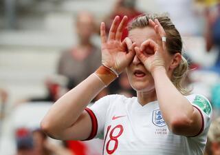 En fotos: Inglaterra le dio la bienvenida a Escocia en el Mundial femenino