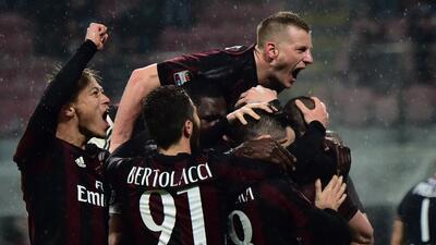 El Milan vence al Torino y se acerca a los puestos de Europa en la Serie A de Italia
