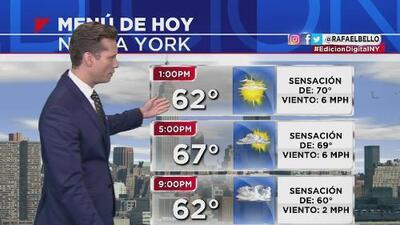 Se pronostican lluvias en la tarde y noche de este miércoles en Nueva York