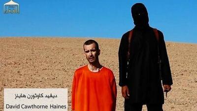 ISIS difunde el video de la decapitación del rehén británico