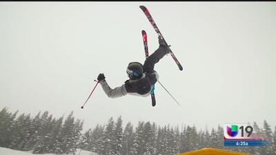Así fue la experiencia de Robby Franco en las Olimpiadas de Invierno