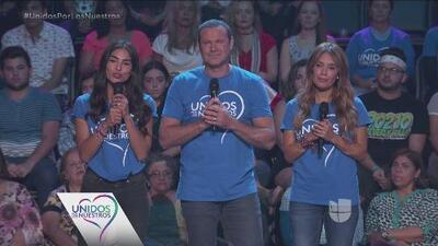 Alejandra Espinoza, Alan Tacher y Karla Martínez abrieron el especial 'Unidos por los nuestros' con un emotivo mensaje