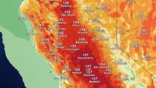 Aviso por calor extremo en el norte de California está en efecto hasta miércoles
